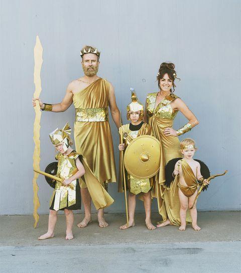 group halloween costume greek gods