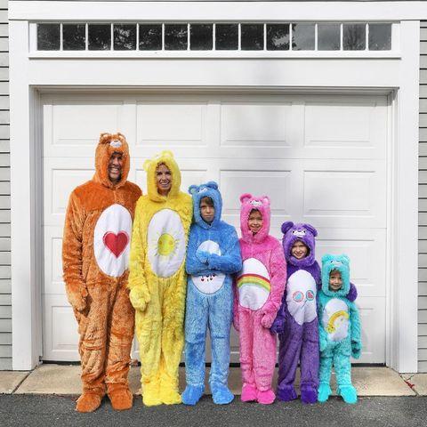 group halloween costume care bearw