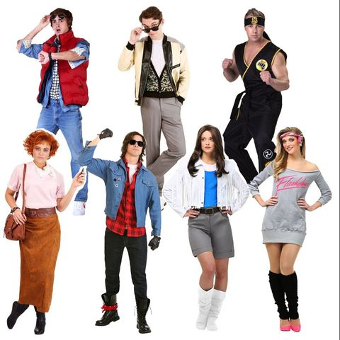 group-halloween-costumes-80s-movies