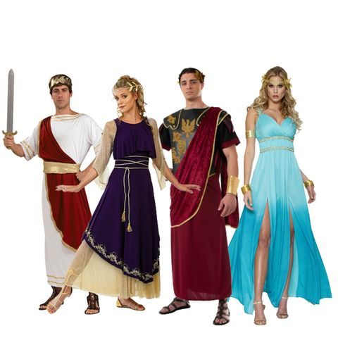 group halloween costumes greeks and romans
