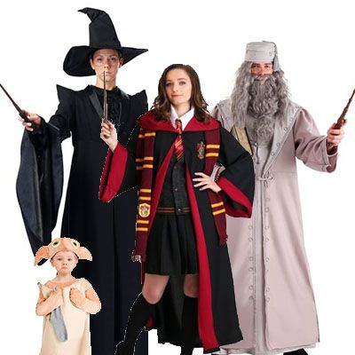 group halloween costumes harry potter