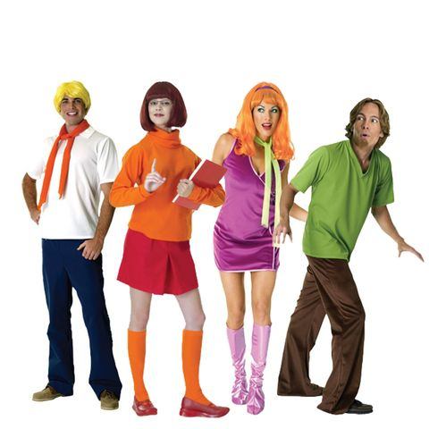 group halloween costumes scooby and the gang