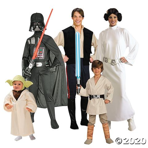 group halloween costumes star wars