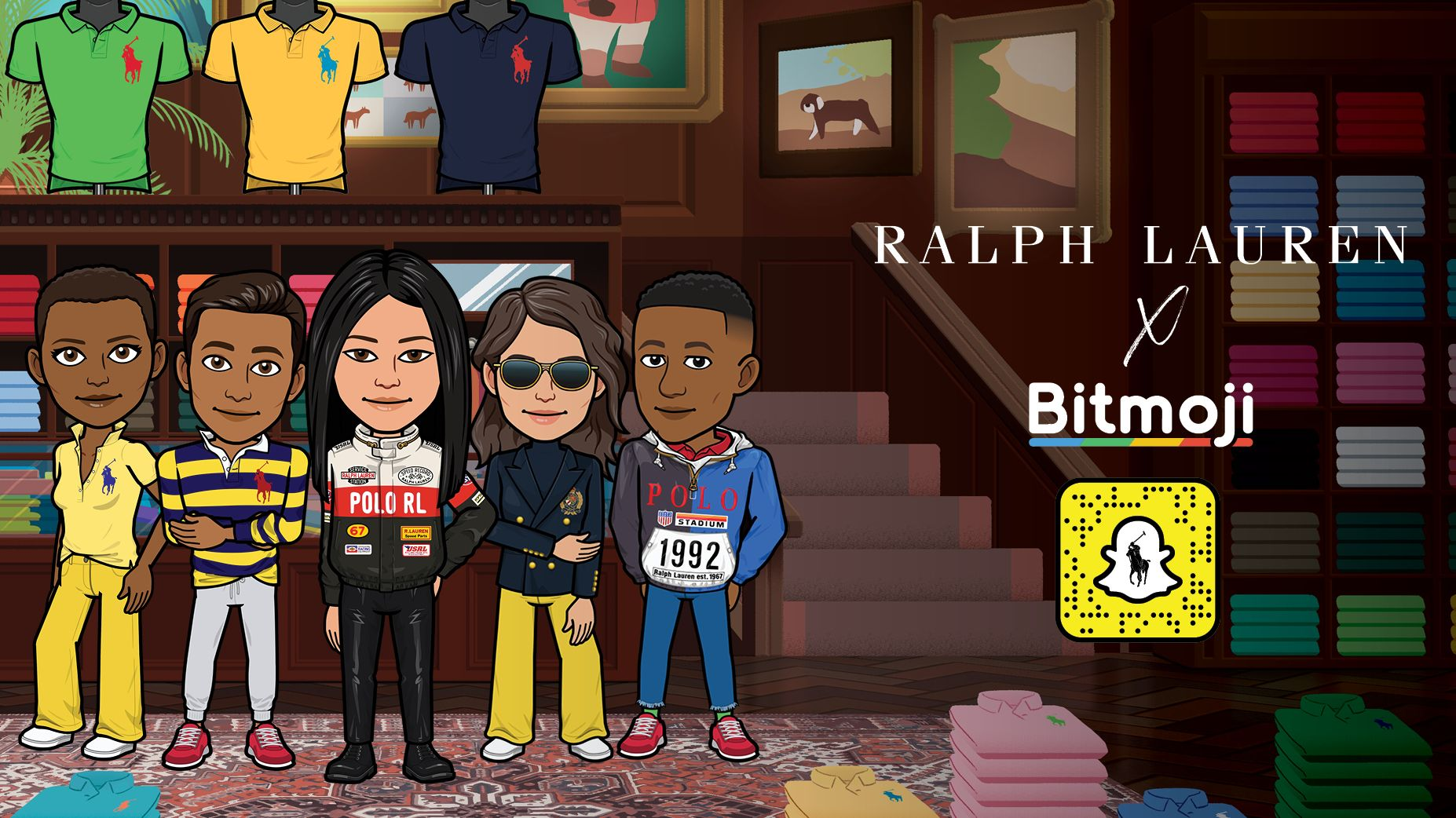 Ralph Lauren launches wardrobe for Bitmoji
