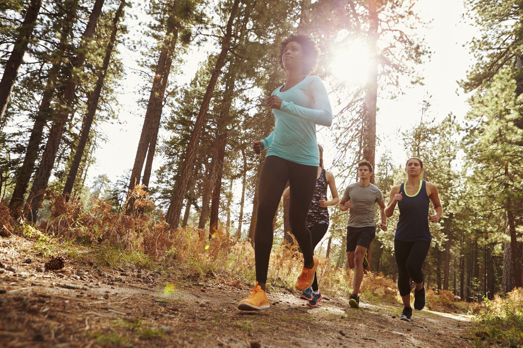 How Your Body Handles Trail Running Versus Road Running