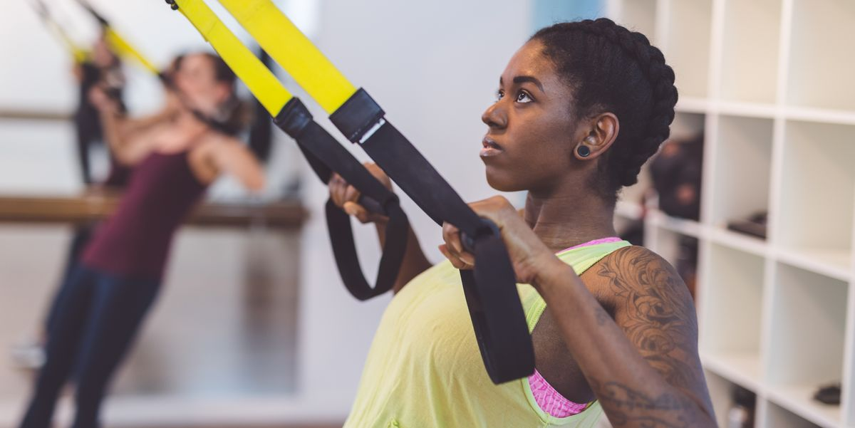 5 Suspension Trainer Moves That'll Hit Your Arms and Abs in Just 15 Minutes