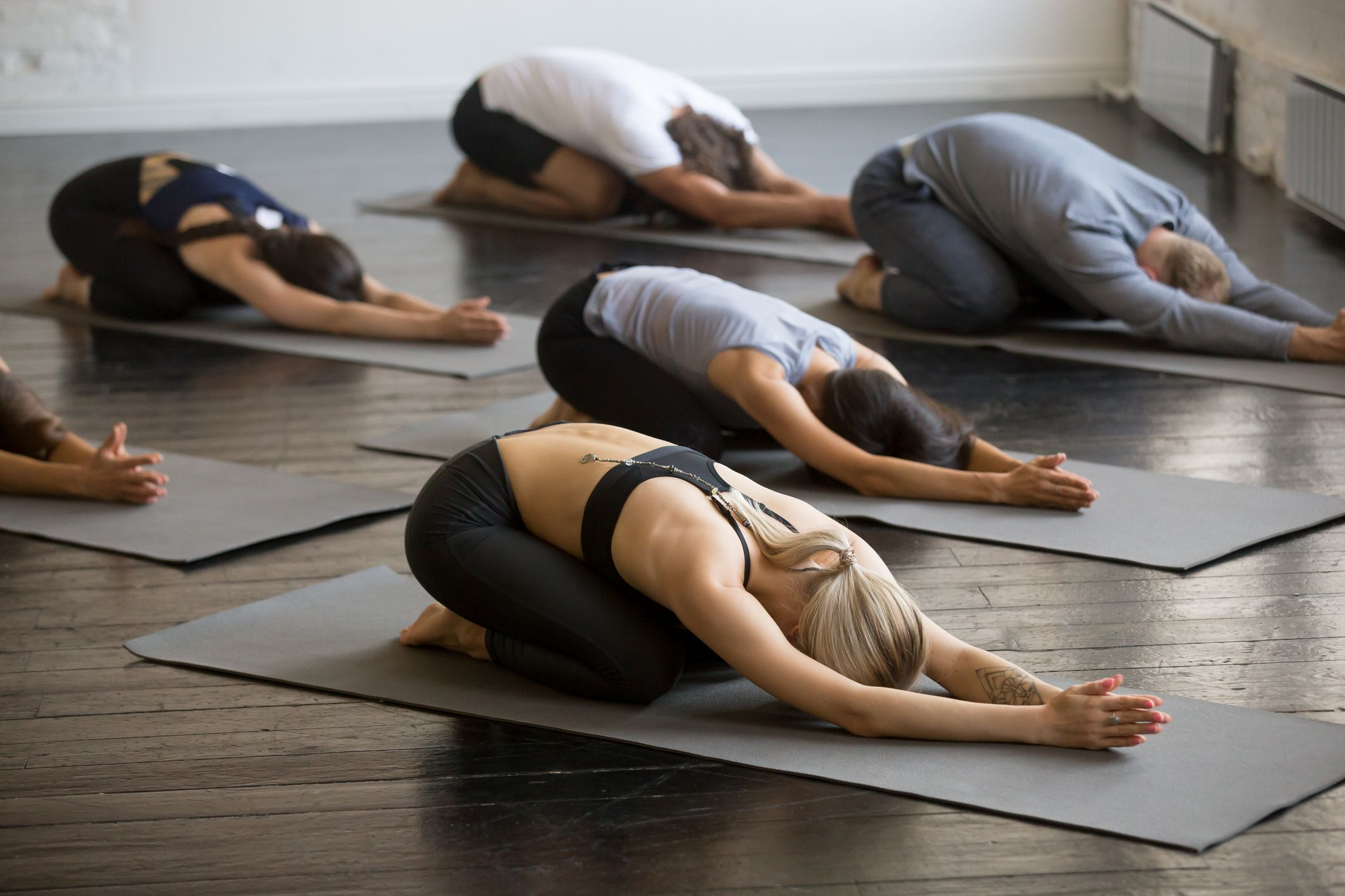 How your hot yoga class can help your heart