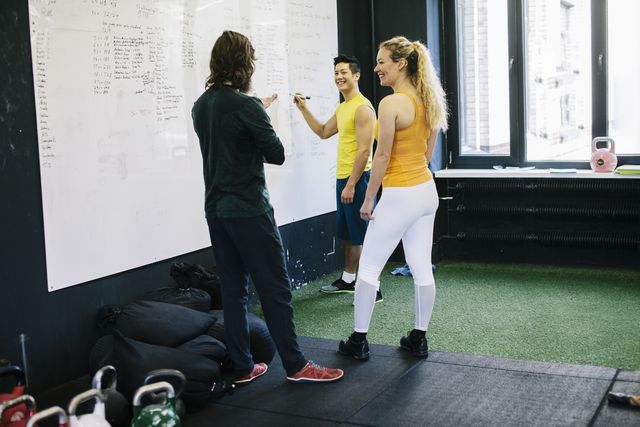 group planning exercise routines