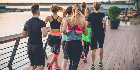 Water, Leisure, Physical fitness, Fun, Exercise, Youth, Dance, Event, Summer, Footwear,