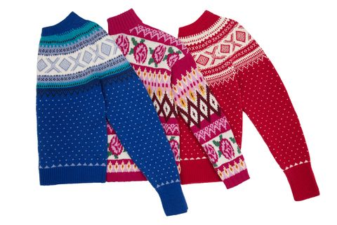 Clothing, Product, Wool, Outerwear, Sweater, Woolen, Sleeve, Turquoise, Magenta, Textile,