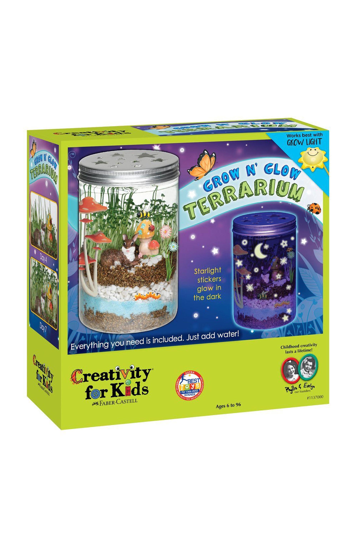 grow n' glow terrarium