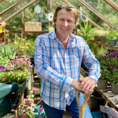 david domoney in new lockdown gardening show