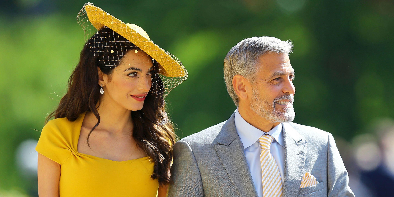 Royal Wedding Amal Clooney George Clooney