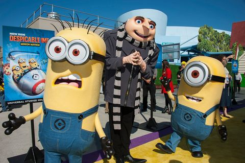 Universal Studios Hollywood Celebrates The Premiere Of New 3D Ultra HD digital Animation Adventure 'Despicable Me Minion Mayhem'