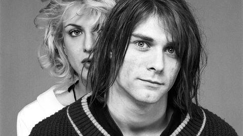 Kurt Cobain e Courtney Love