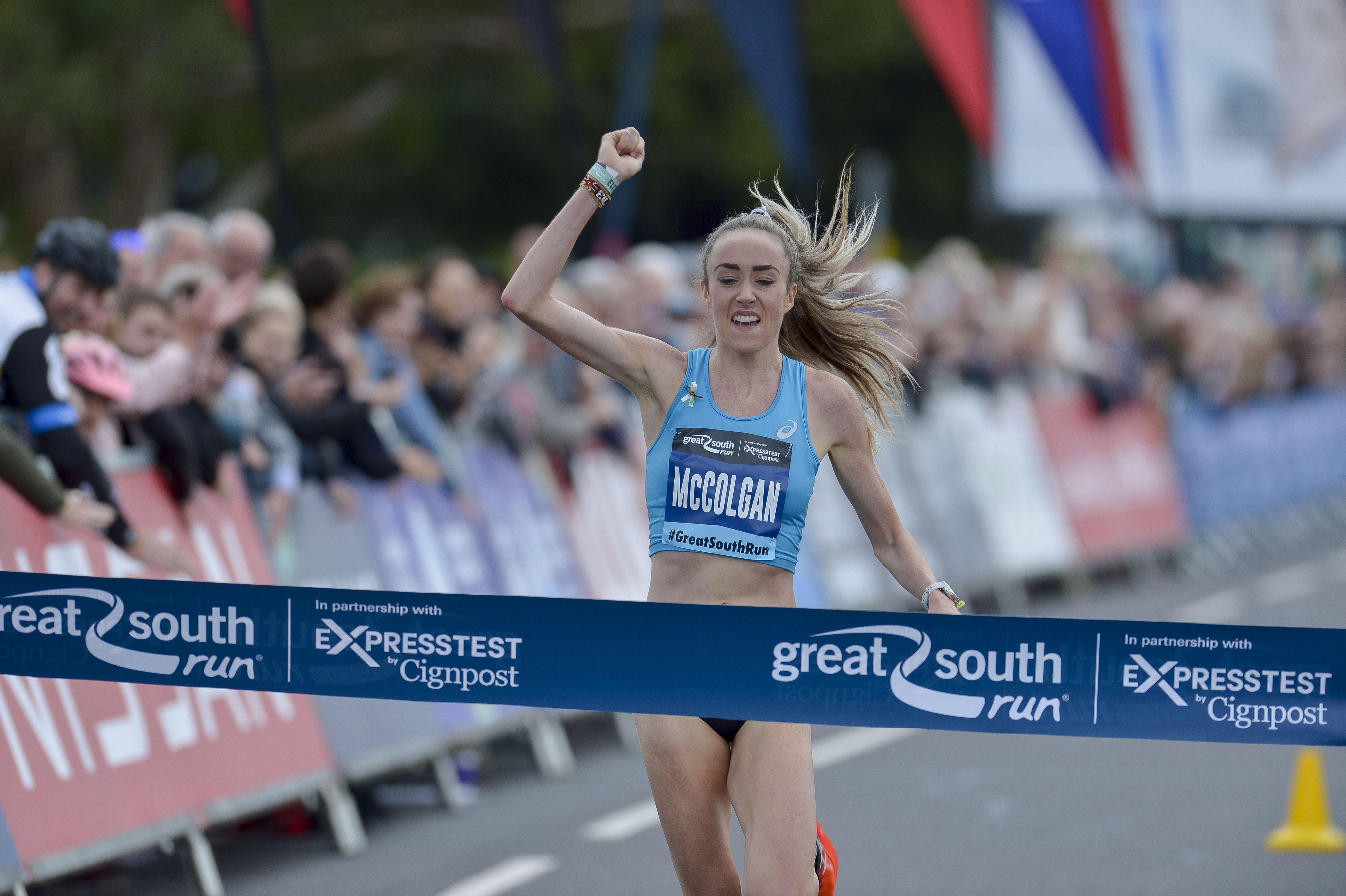 Eilish McColgan breaks Paula Radcliffe's British 10-mile record