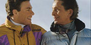 Jean-Claude Van Damme and Valentino