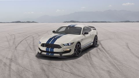 2020 Ford Mustang Shelby GT350 and GT350R Heritage Edition