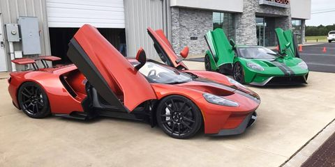 Ford Gt Colors 8 Custom Exterior Colors You Can Get On The Ford Gt