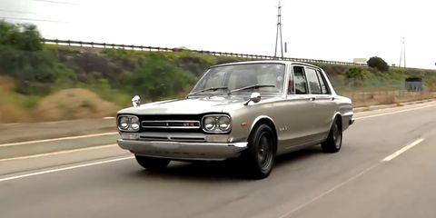 land vehicle, vehicle, car, classic car, coupé, sedan, datsun 510, compact car,