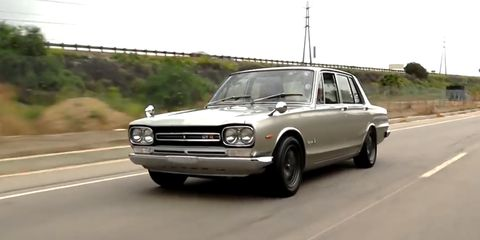The First Nissan Skyline Gt R Was A Four Door Sleeper