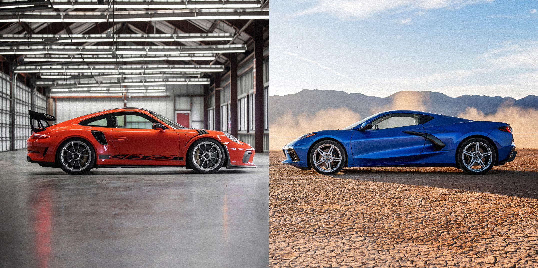 2020 Chevy Corvette Z51 Vs 2019 Porsche 911 Gt3 Rs Track Tests