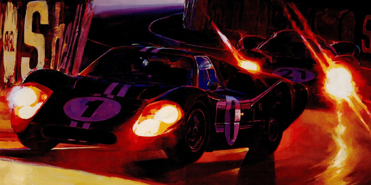Car Painting Apps >> How Ford Beat Ferrari at Le Mans