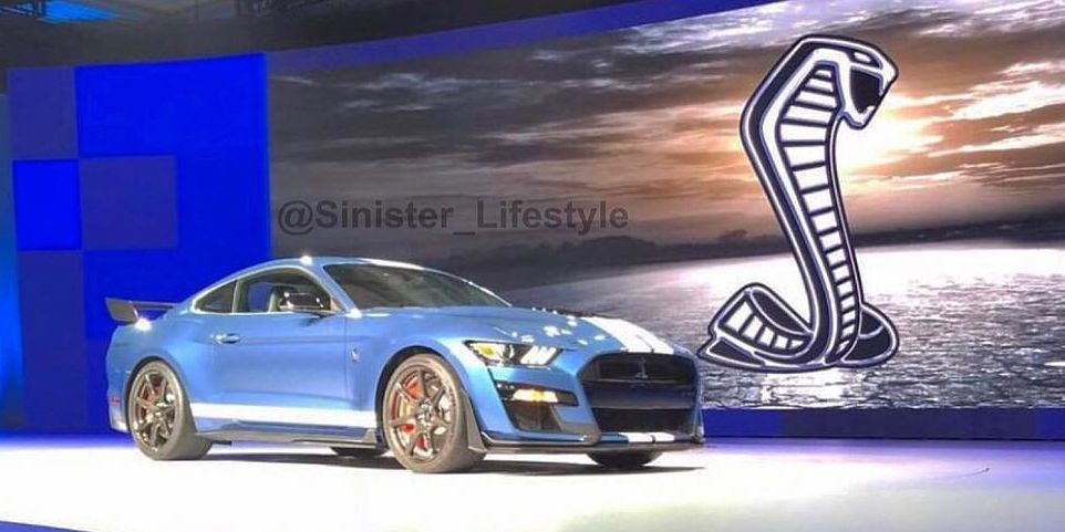 2019 Ford Mustang Shelby Gt500 Apparently Leaked On Instagram