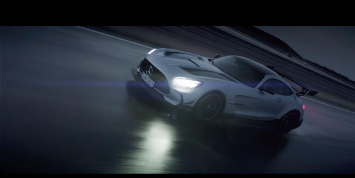 Mercedes-AMG GT-R Black Series: Something Wicked