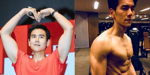 Barechested, Bodybuilder, Muscle, Arm, Shoulder, Chest, Abdomen, Bodybuilding, Human body, Model,