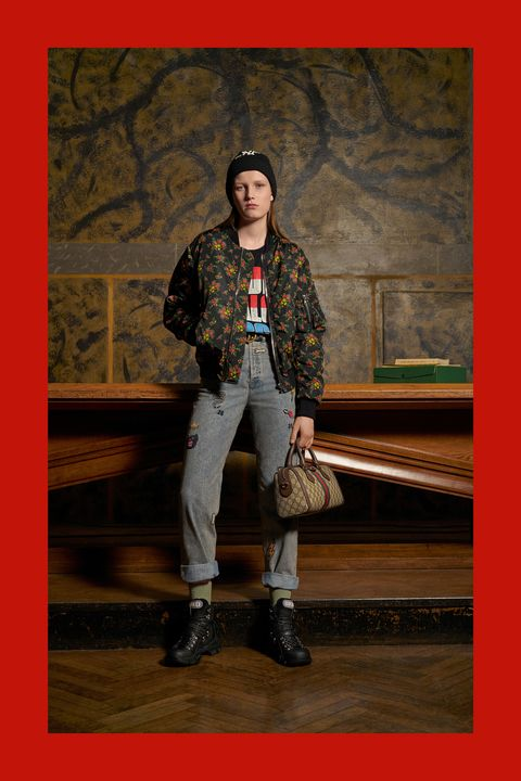 56492224 Gucci Pre-Fall 2018 Collection-Gucci Collaborates With MLB on ...