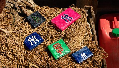 Gucci, Gucci MLB Collection, MLB, 美國職棒大聯盟, 聯名包款, 聯名鞋款