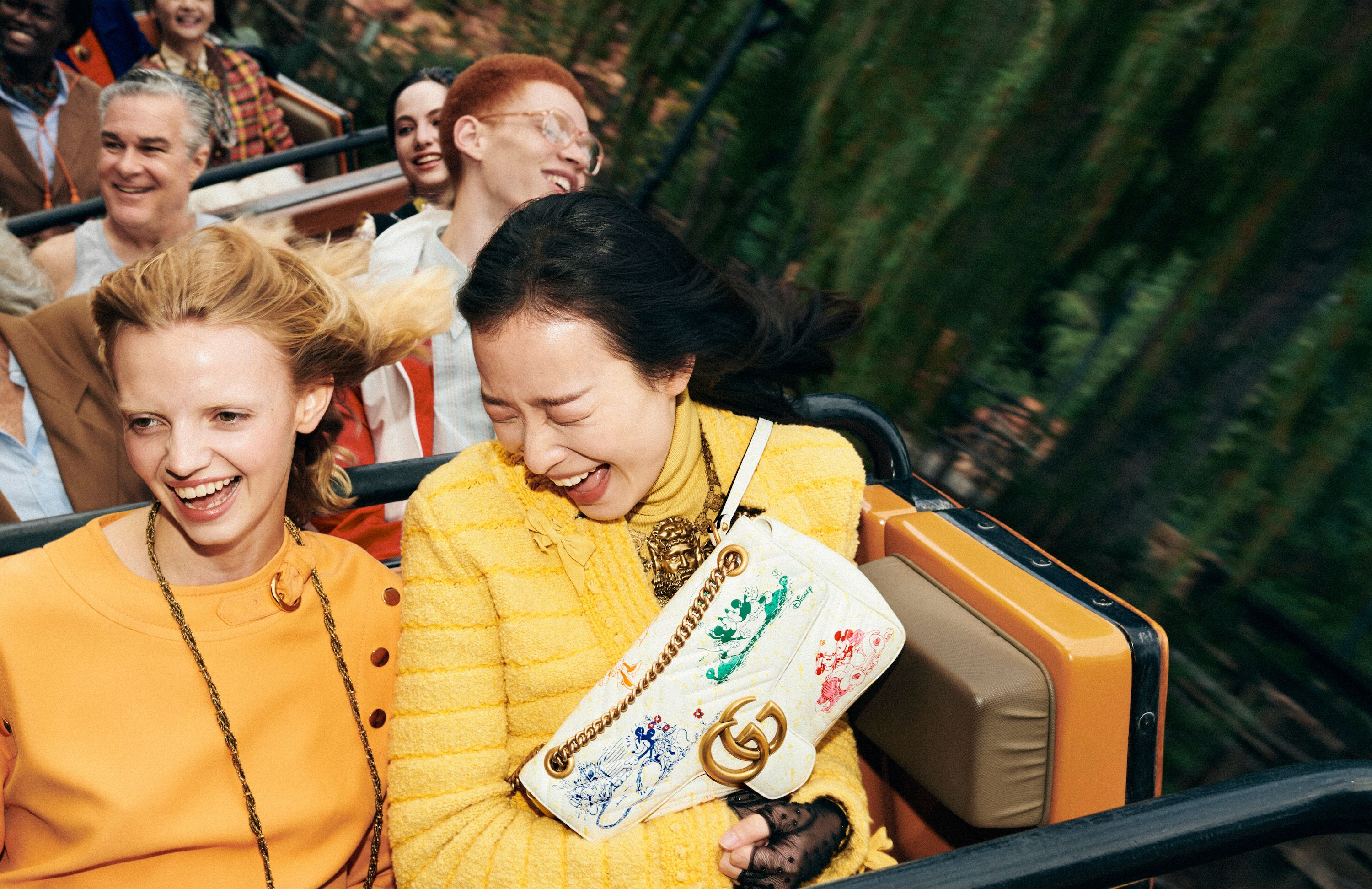 Gucci and Mickey Mouse Collaborate for the Lunar New Year