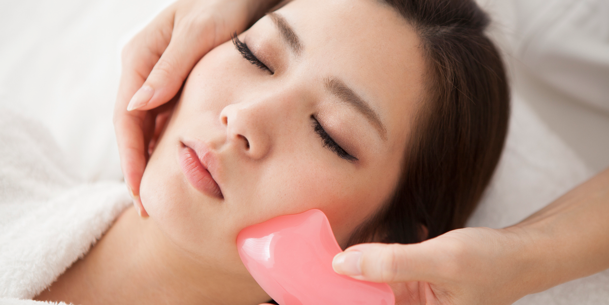 How to Do a Gua Sha Facial Massage to De-Puff and Brighten Your Skin