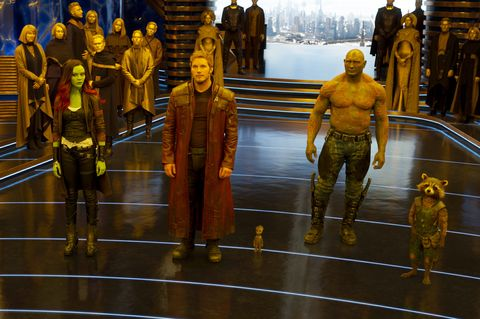 guardians of the galaxy vol 2, gamora, drax, star lord