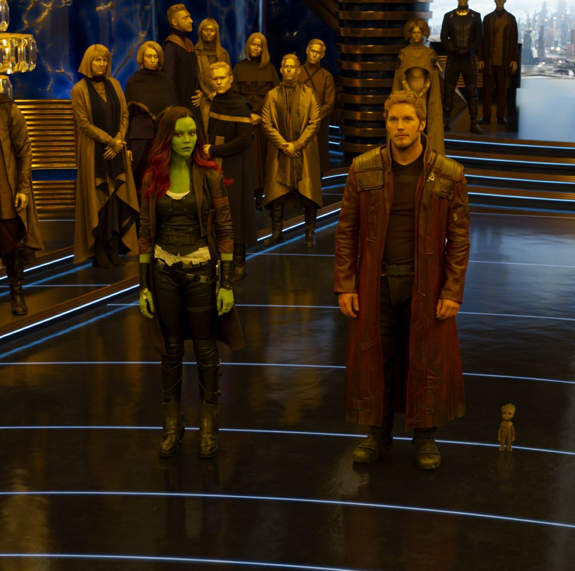 Guardians of the Galaxy Vol. 2 Chris Pratt, Zoe Saldana and the rest of Marvel's wisecracking Guardians crew return for a second intergalactic adventure, which this time around involves Star Lord's reunion with his father, played by Kurt Russell.