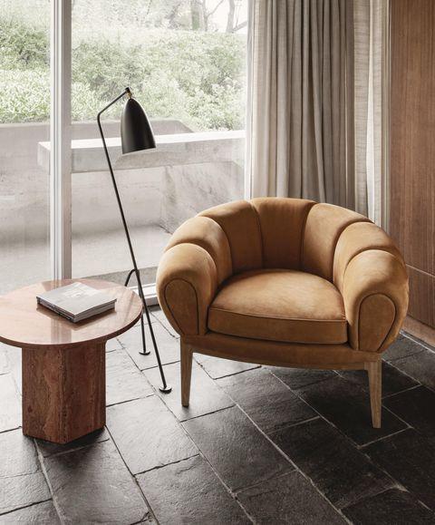 gubi crossiant chair best armchairs