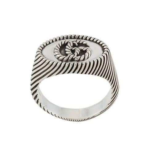 gucci gg仿舊造型戒指