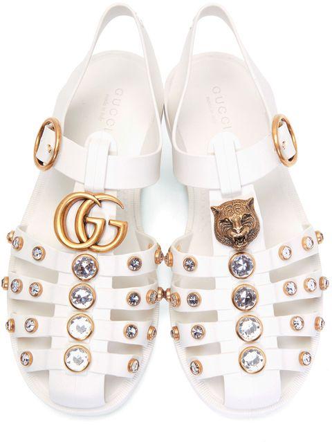 gucci gg 果凍鳥籠鞋