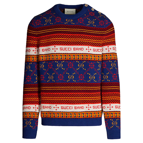 Christmas in London II Mens Christmas Sweater By British Christmas Jumpers