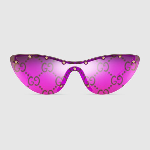 gucci pink cat eye sunglasses