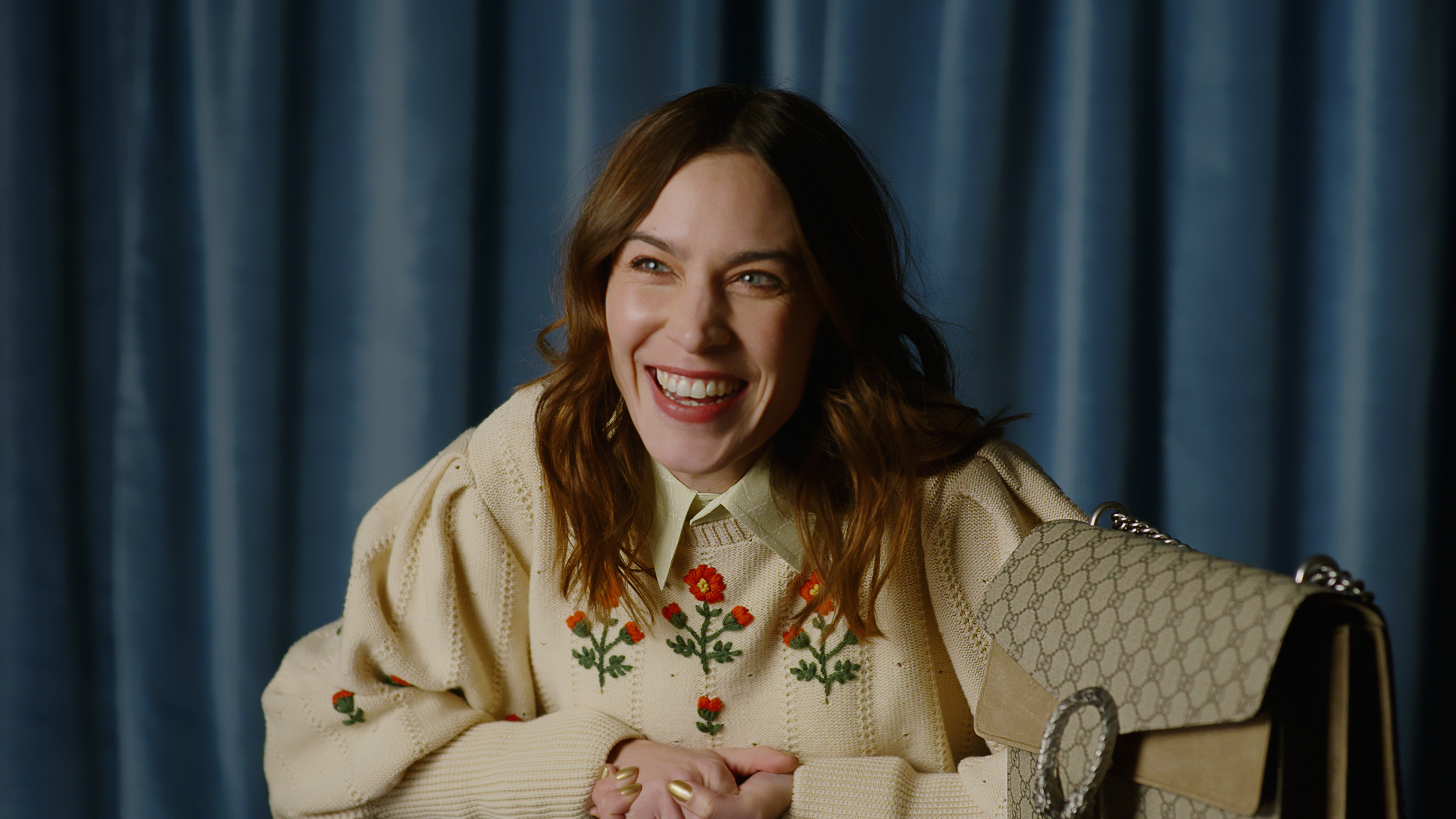 Watch Alexa Chung reveal all playing 'Fill in the blank'