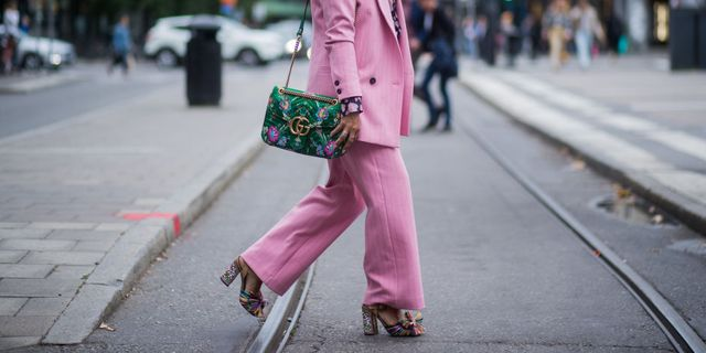 gucci campagne beauty mascara roze tas