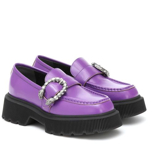 gucci chunky loafers