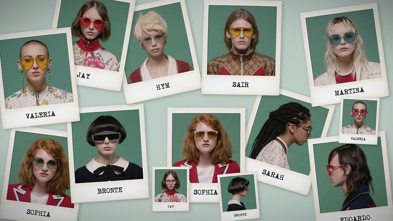 b41fa17fcd Gucci - Así son las gafas de la nueva generación de jóvenes