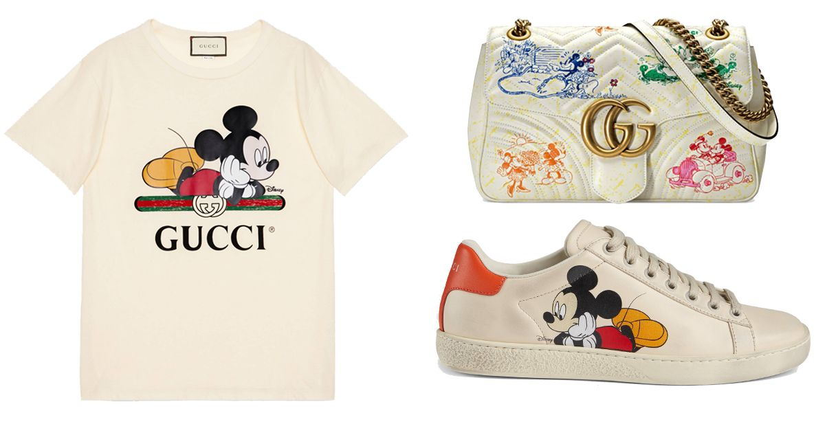Gucci x Disney Shop the best buys according to an Editor