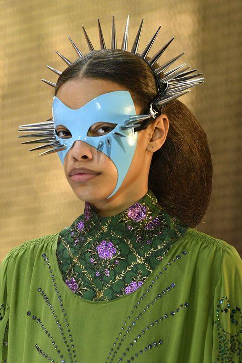 Face, Head, Fashion, Mask, Masque, Costume, Headpiece, Tribe,