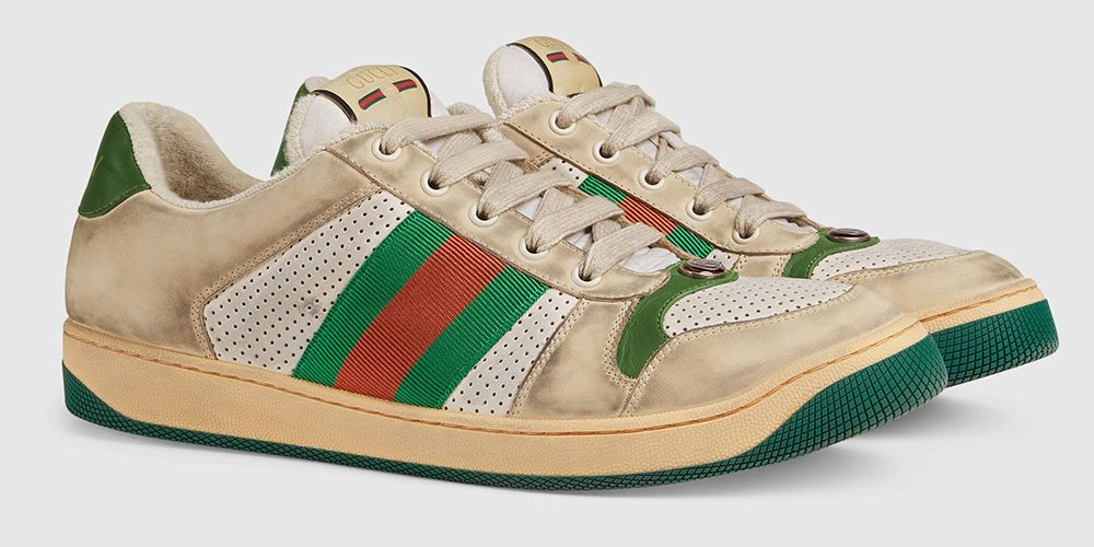 Gucci Men\u2019s Screener Leather Sneaker