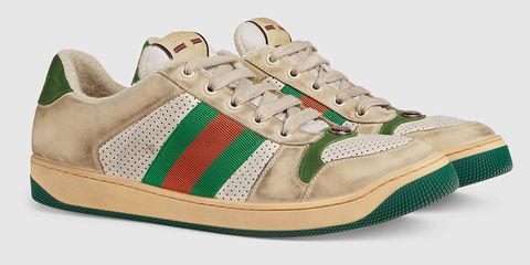 a8aed12e1f4ad Gucci Is Selling Sneakers That Purposely Look Dirty for Nearly  900