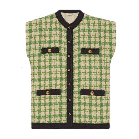 Piede de poule green jacket gucci